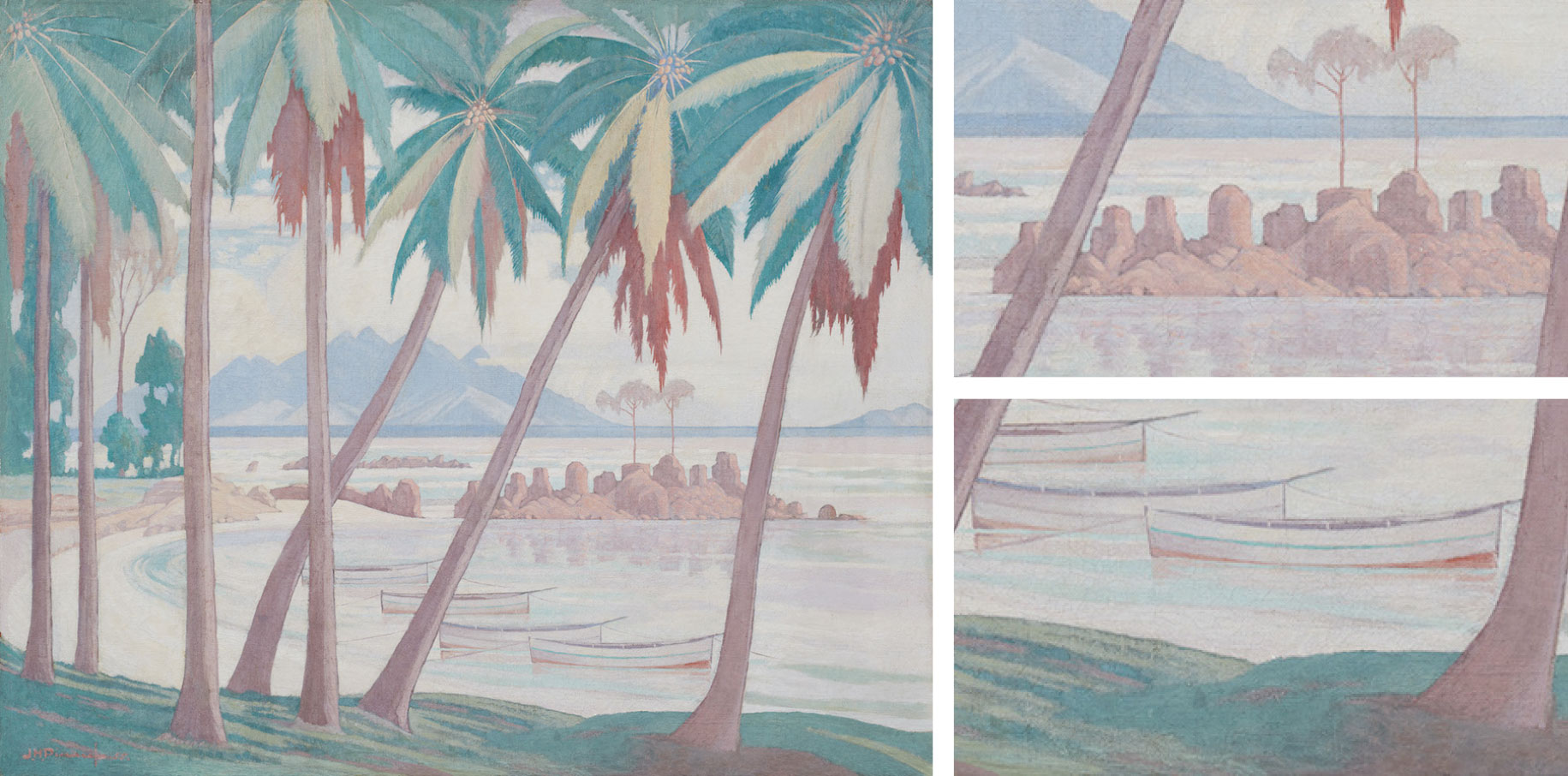 JH_Pierneef-A_View_across_Fishermans_CoveSeychelles-1955-oil_on_canvas-Image_Repro_Pictures_1