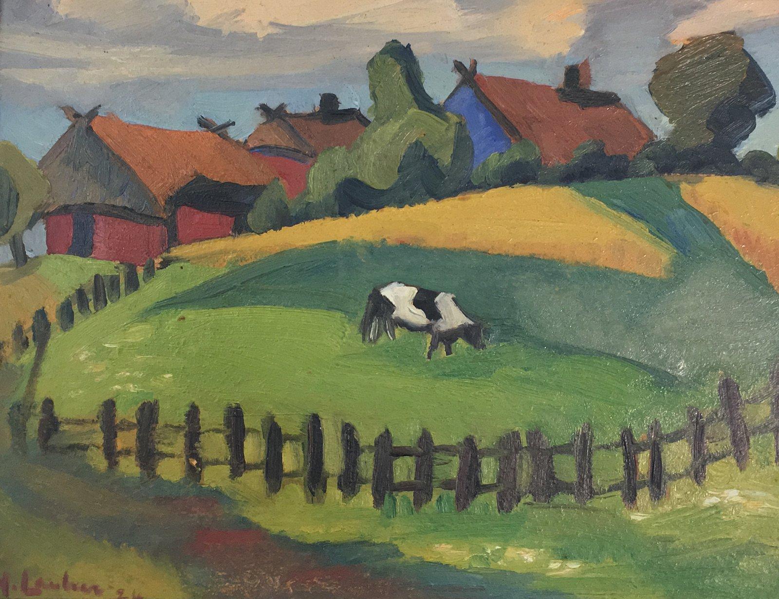 Maggie-Laubser-Pastoral-Landscape-295x380Oil-Absolut-Art-Gallery